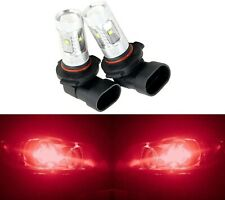 LED 30W 9006 HB4 Red Two Bulbs Head Light Replace Show Use Low Beam Lamp OE