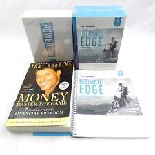 Tony Robbins Ultimate Edge Program Audio CD Package Power Talk DVD Set Book