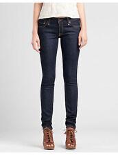 NWT Lucky Brand Womens Lola Skinny Jeans Size 00 Long 24x34 Dark Wash