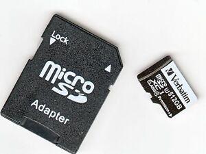 Verbatim microSD Card Premium plus V10 512 GB incl. Adapter