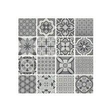 Patterned Porcelain Floor Tiles -  Vintage Mix 1 Square Metre (16 Tiles)