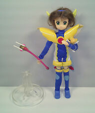 "2000 Blue Warrior Sakura 8"" Action Figure Fashion Doll Card Captor Cardcaptors"