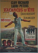 """VACANCES D'ETE (SUMMER HOLIDAY)"" Affiche entoilée 1965  Cliff RICHARD  58x79cm"