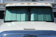2013+ Freightliner Cascadia Custom Fit Front Windshield UV Sun Shade: UV11317SV