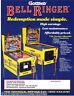 BELL RINGER By GOTTLIEB 1990 ORIGINAL NOS PINBALL MACHINE SALES FLYER BROCHURE