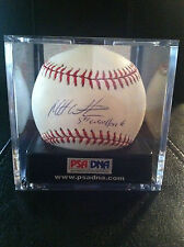 "RARE MATT WIETERS SIGNED INSCRIBED ""5TH OVERALL PICK"" BASEBALL PSA DNA COA"