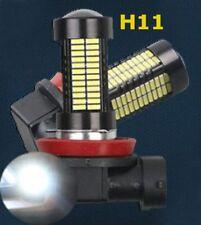 H11 108 4014 LED 6000K Bulb Car Truck Fog Light 1 Pair Lamp For BMW Jaguar