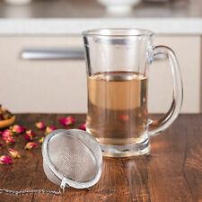 Tea Ball Stainless Steel Sphere Mesh Strainer Filter Spice Soup Tea Infuser