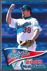 2003 Los Angeles Dodgers Baseball Media Guide