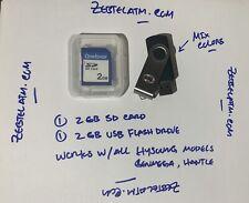 Hysoung , Genmega, Hantle Software 2Gb Sd Card & 2Gb Usb Flash Drive