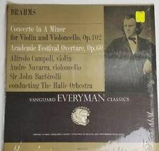 CAMPOLI & NAVARRA brahms concerto for violin & cello LP 1963  SRV-136SD