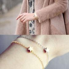 2PCS Star Charm Bracelet Gold Silver Boho Hippie Bohemian Bangle Valentine Gift