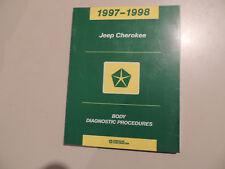 Diagnostic manual Diagnose Werkstatthandbuch Jeep Cherokee 1997-1998