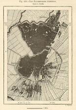 The Zuiderpolder (Mijdrecht) formerly. Waverveen. Netherlands. Sketch map 1885