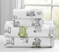NEW Pottery Barn Braden Construction Sheet Set Full SOLD OUT