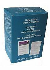 Heilpraktiker Psychotherapie. Lernkarten mit 600 Fragen ... | Buch | Zustand gut