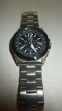 Efr545sbdb-1b Tough Watch Edifice Used Casio Men's Chronograph Solar Stainless