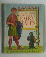 The First Little Golden Book of Fairytales 1946 Hardcover with Gertrude Elliott