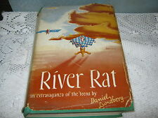 SIGNED River Rat: An Extravaganza of the 'Teens By Daniel Lundberg Vintage Book