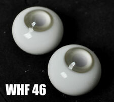 Good 8mm Light Grey Glass BJD Eyes for AOD barbie OOAK BJD Dollfie
