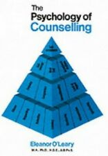 Psychology of Counselling by Eleanor O'Leary Paperback Book The Cheap Fast Free