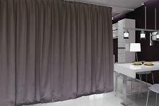 Blockout Curtain 267x230cm PINCH PLEAT 1 panel Blackout High Level Fabric