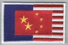 Firefly / Serenity Sino-American Alliance Flag Embroidered Patch, New Unused