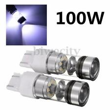 2Pcs T20 7440 7443 100W 20SMD LED Car Brake Light Backup Reverse Bulb Lamp