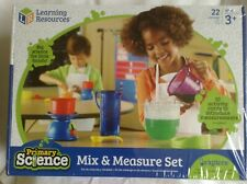 Learning Resources - Mix & Measure Set - 22 pieces -  age 3+ New in Sealed Box