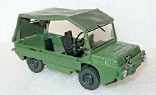 1/43 LuAZ 967 M  Soviet military 4 WD car model Die cast IXO & 30 magazine DeA