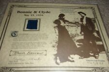 Bonnie And Clyde Piece Of Clyde Barrow's Pants Worn At Time Of Ambush !