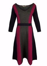 Ex Boden Ladies Darcey Knitted Cotton Blend Dress Size 6