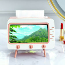 TV Remote Control Pen Tissue Phone Holder Stand Organizer Rack Case Box Storage