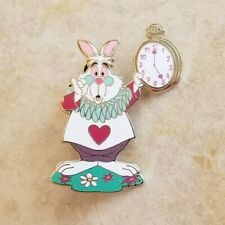 Disney Trading Pins Alice in Wonderland White Rabbit Disneyland Paris Clock