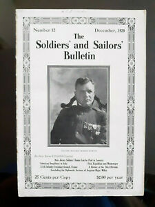 1920 The Soldiers' & Sailors' Bulletin WWI American Doughboys Italy, 311th Inf.