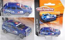 Majorette 212084009 Dacia Duster, blau, 2, 1:64, RACING CARS
