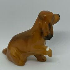 "Royal Doulton Spaniel With A Bandaged Paw Dog Figurine (K9) 2.25"" - England *E1A"