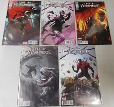 Edge of Venomverse comic set #1 to #5 1st Prints set Marvel Comics Venom