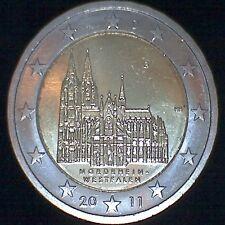 """Deutschland 2011 2 Euro Sondermünze """"Nordrhein Westfalen"""" - ADFGJ in Kapseln"""