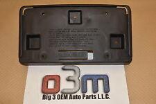 1998-2002 Oldsmobile Intrigue Front License Plate Bracket new OEM 10269190