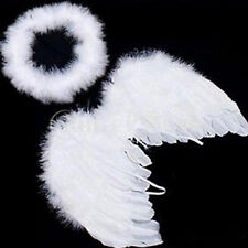 New Baby Kids White Angel Wings Feather for Party Decoration And for Photo Prop