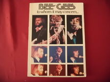 Bee Gees - To Whom it may concern . Songbook Piano Vocal Guitar PVG
