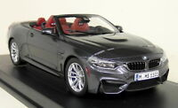 Paragon 1/18 Scale - BMW M4 Convertible F83 Mineral Grey Diecast Model Car
