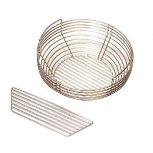 """Kamado Bono Kick Ash Basket Dividable 25"""" Grill Stainless Steel For Kamado Grill"""