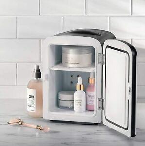 Small Mini Fridge For Office Bedroom Car Desk Work Refrigerator Portable Freezer