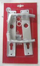 Manipuler X Porte Plaque Trou Yale Fabriqué Aluminium Argenté 803 Neuf