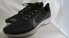 WOMEN`S NIKE AIR ZOOM PEGASUS 36 SHIELD ATHLETIC SNEAKERS SIZE8.5M NEW BLK/SILVE