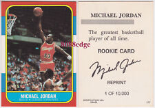 1994-95 SPORTS STARS FLEER ROOKIE CARD REPRINT: -MICHAEL JORDAN CHICAGO BULLS RC