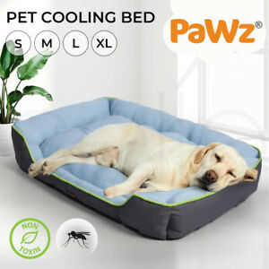 PaWz Pet Cooling Bed Dog Non-toxic Sofa  Bolster Insect Prevention Summer Large