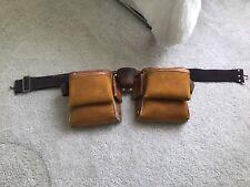 Leather tool belt, Carpenter/Construction Work Belt
